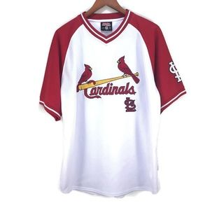St. Louis Cardinals Stitches Baseball Jersey SZ LG
